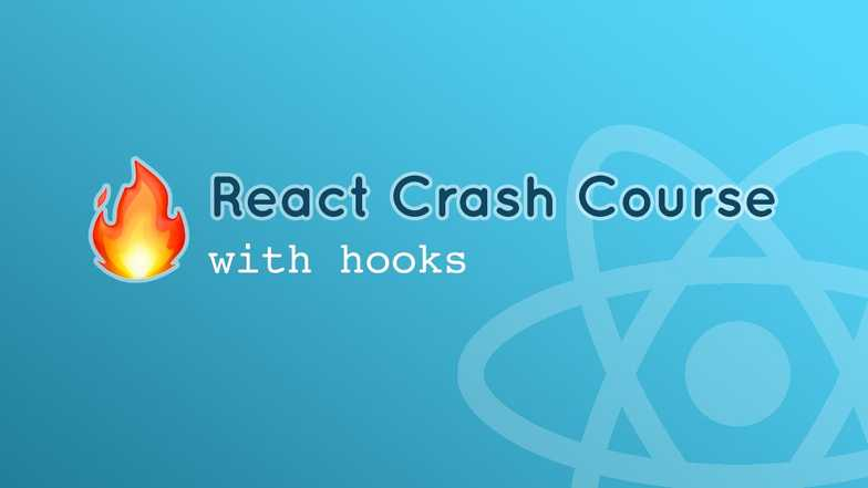 React Crash Course with hooks